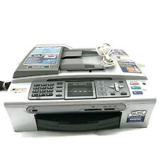 Brother MFC-465CN All-In-One Color Inkjet Printer With Ink USB Cable Working