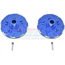 GPM Alum +6mm Hex w/ Brake Disk & w/ Silver Lining (4Pcs) Blue : Infraction