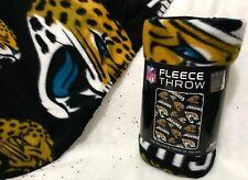 NFL Jacksonville Jaguars Fleece Throw Blanket Brand New