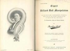 Burling Hull: Billiart Ball Manipulation; Sleights; 33 Rope Ties; Art of Stage