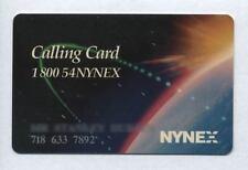 RARE 1996 NYNEX TELEPHONE PHONE CALLING CARD 1-800-54NYNEX