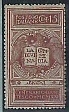 Varietà  ITALIA REGNO:  Sassone 116c  Senza Filagrana - Nuovo linguellato