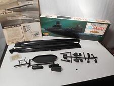 Aurora Model Kit SSN Sea Wolf Atomic Submarine