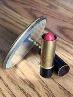 Vintage Schildkraut Bros Inc Folding Refillable Lipstick Tube And Mirror
