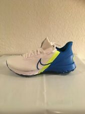FREE SHIP! NEW Sz 10 Nike Air Zoom Infinity Tour Golf Shoes Blue White Koepka