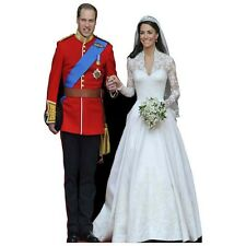 H10010 William and Kate Cardboard Cutout Standup