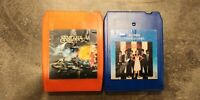 Santana 8 Track Tape w/ Blondie Parallel Lines 8 Track Cassettes