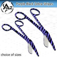Er Medical Supplies Bandage Lister Scissors Purple Black Zebra Stripes Pattern