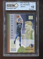 Luka Doncic RC 2018-19 Status #3 Rookie Prominence GEM MINT 10