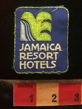 Vtg JAMAICA RESORT HOTELS Patch ROUGH STITCH & AS-IS!!! Caribbean 70X5