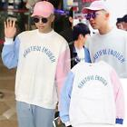 Kpop BTS Rap Monster Sweater Airport Fashion Hoodie Bangtan Boys Jimin Pullover
