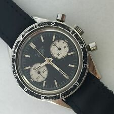 RARE VINTAGE HEUER AUTAVIA 3646 ARGENTINA AIRFORCE Manual wind CHRONOGRAPH val92