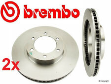 """Set of 2  Brembo  UV Coated Front Brake Rotor's 4-Runner with 17""""Wheels & GX470"""