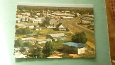 OLD AUSTRALIAN POSTCARD 1970s CUNNAMULLA QUEENSLAND, VIEW OF TOWN