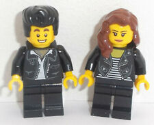 Lego Rocker Man & Lady Minifig x 2 HAIR CHOICE AVAILABLE SEE PICTURES