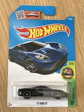 2016 HOT WHEELS'17 FORD GT SUPER TREASURE HUNT-HW exotics