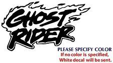 "Ghost Rider Game Graphic Die Cut decal sticker Car Truck Boat Window 7"""