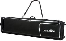 Athletico Conquest Padded Snowboard Bag with Wheels - Travel Bag for Single and
