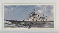 1962 Lyons Tea HMShips from 1902 to Base #23 HMS Howe Non-Sports Card 4az