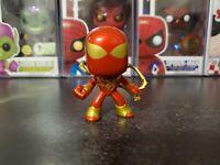 Funko Mystery Mini Marvel Spider-Man Iron Spider Walmart Exclusive Rarity 1/36