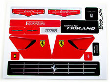 CUSTOM STICKERS for LEGO 8145 GTB Fiorano - Very nice! Pre-cut for models