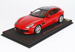 Ferrari GTC4 Lusso T Panoramic Roof rosso-corsa (322) 2018 - 1:18 BBR lim.Ed.