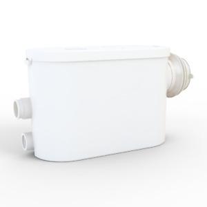 Hebeanlage 3/1 Seitlicher Anschluss Schmutzwasser Fäkalien WC Kleinhebeanlage