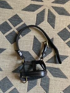 Leather Dogmatic Headcollar Harness Size 3L