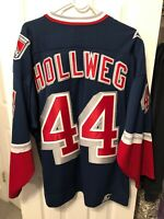 Ryan Hollweg New York Rangers Stater Lady Liberty Logo Jersey Size Large