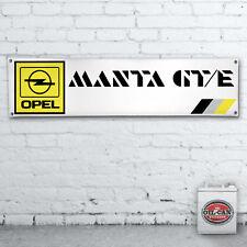 OPEL MANTA GTE workshop / garage / showroom / mancave 1700x430mm