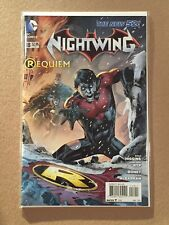 NIGHTWING (2011) #18 EDDY BARROWS COVER 1ST PRINTING NM REQUIEM DEATH FAMILY 52