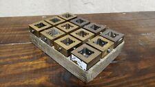12 Erowa Er 009222er 093765 Brass Electrode Holder Sinker Edm System 3r