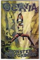OCTAVIA MONSTER & SKETCHBOOK 1, VF+, Mike Hoffman, 2006, more indies in store
