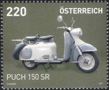 Austria 2017 Puch 150 SR/Motorcycle/Motor Scooter/Motoring/Transport 1v (at1285)