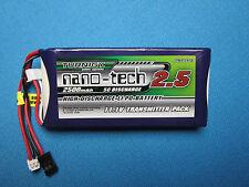 NANO-TECH 2500mAh 3S LIPO BATTERY Tx JR FUTABA 6EX 3VCS 3PKS 3PM GT3B M11 FS-T6