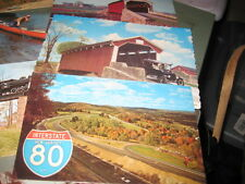 Vintage Postcards - PA - lot of 11 - mixed scenes -  Mines, Turnpike, etc.