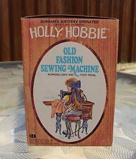 Holly Hobbie Old Fashion Sewing Machine Working Light/Foot Pedal NIB Durham