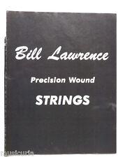 retro magazine advert 1981 BILL LAWRENCE strings