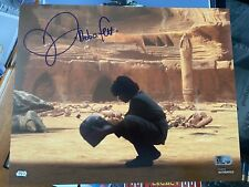 Daniel Logan Signed Star Wars Topps Authentic 8x10