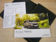RENAULT TRAFIC HANDBOOK  + WALLET years 2014-2017 SERVICE SECTION