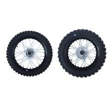 HMParts Pit Bike Dirt Bike Cross 110  - 125 ccm Alu Felgen SET Eloxiert 10/10 SW