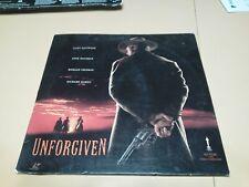 Unforgiven Laserdisc Movie Clint Eastwood