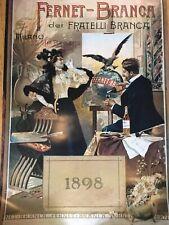 Fernet Branca 1898 poster 24 by 36 inch