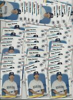 (50) Edgar Martinez ROOKIE CARDS 2019 Hall of Fame Seattle Mariners