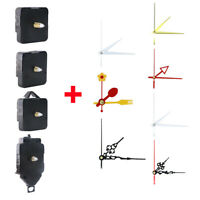 DIY Quartz Battery Wall Clock Movement Mechanism Repair Tools Sets Replace Parts