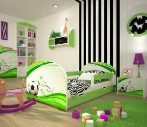 Toddler Bed Children Bed Kids Bed+FREE  MATTRESS  140x70 160x80
