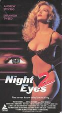 Night Eyes 2 (VHS) Rare OOP Prism/Unrated Shannon Tweed ONLY on VHS!