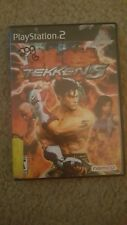 Tekken 5 (Sony PlayStation 2, 2004) PS2 Complete Tested Works!