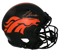 JERRY JEUDY SIGNED DENVER BRONCOS ECLIPSE FULL SIZE AUTHENTIC HELMET BECKETT
