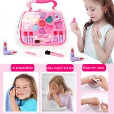 Kids Girls Makeup Set Eco-friendly Cosmetic Pretend Play Kit Princess Toy Gift l